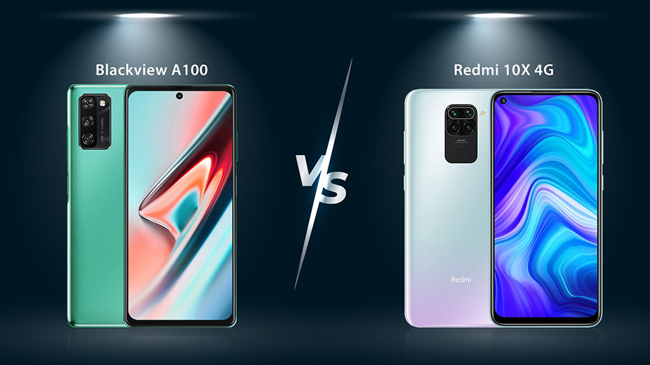 The best affordable 4G phone in 2021: Blackview A100 vs. Redmi 10X